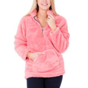 Jackie Pullover in Coral